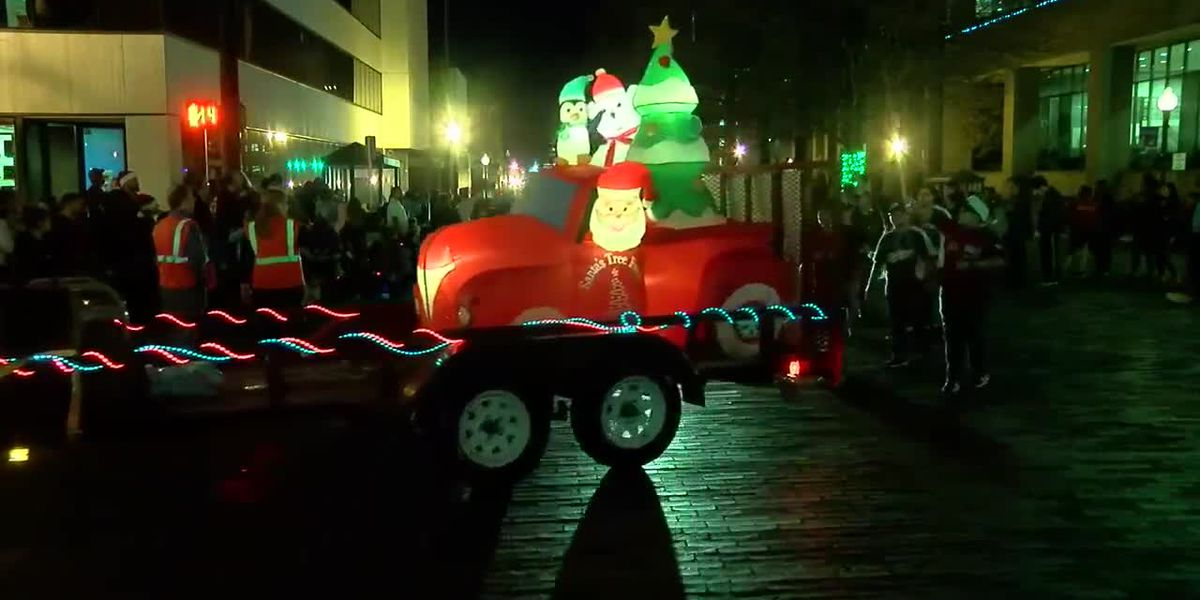 WATCH: Floats and performers dazzle the crowd during the Tyler Rotary Christmas Parade
