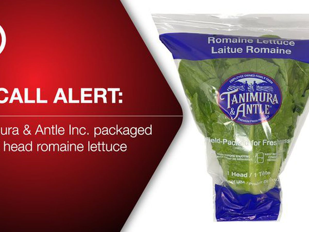 Romaine lettuce recall hits 19 states and Puerto Rico