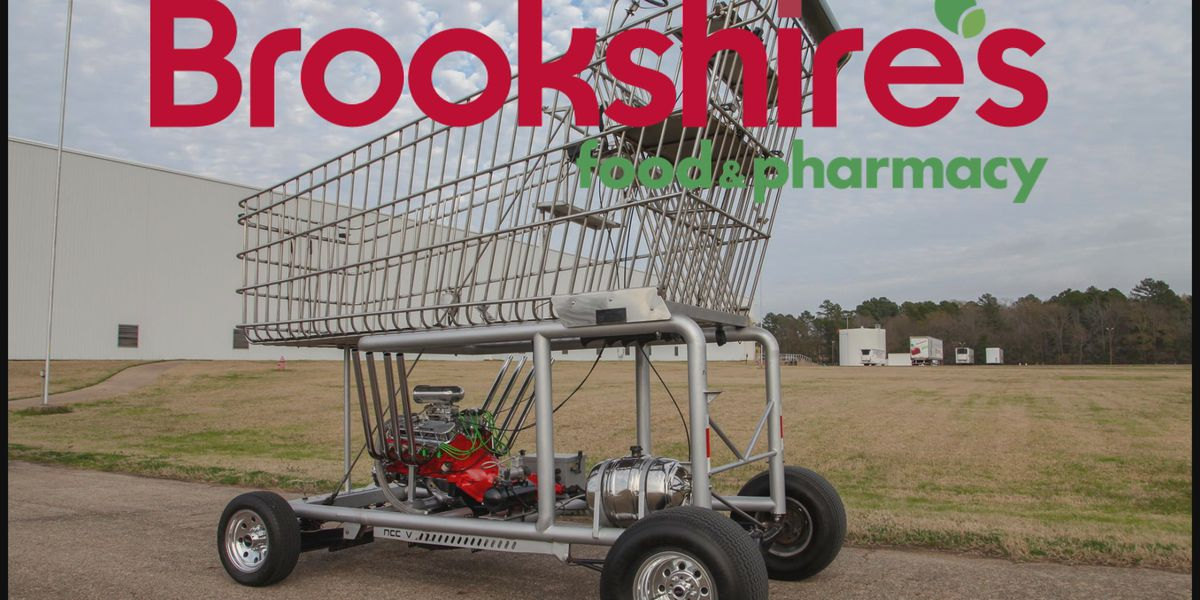 """""""The Big Grocery Cart,"""" to be unveiled at reopening of Bowie Brookshire's"""