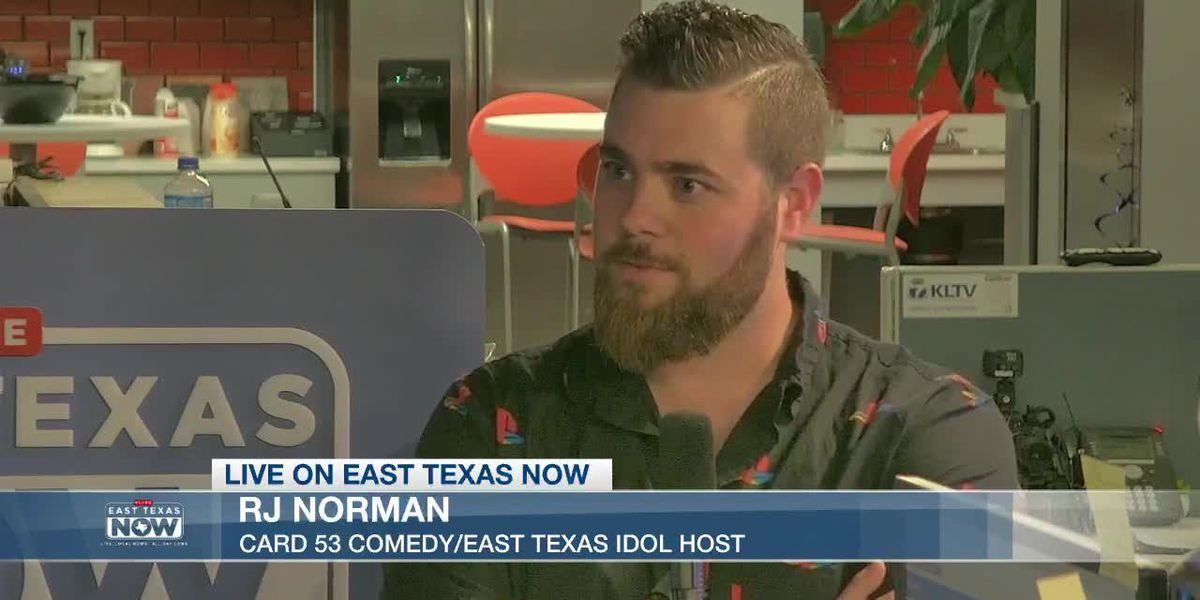 EAST TEXAS NOW INTERVIEWS: Chatting with 'East Texas Idol' host RJ Norman