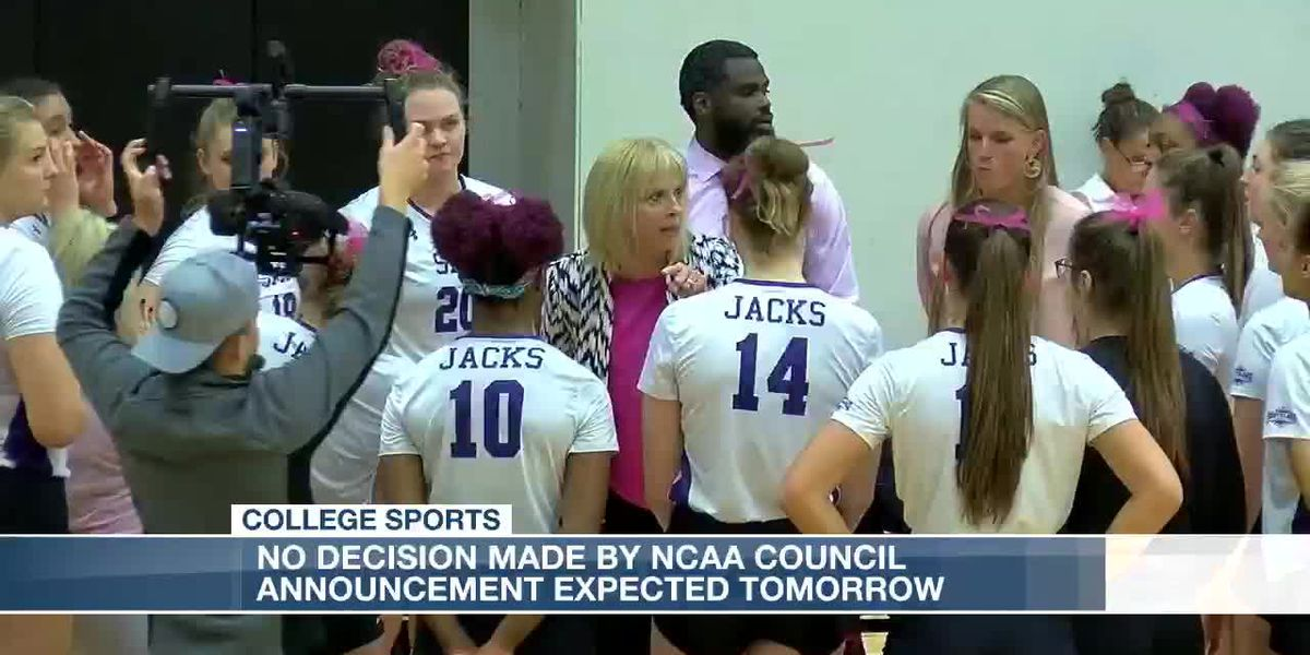 NCAA leaves fate of fall sports to each division