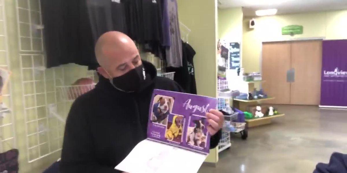 Longview animal shelter creates calendar to help raise money during pandemic