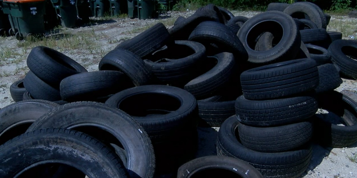 City of Tyler to enforce tire disposal fee