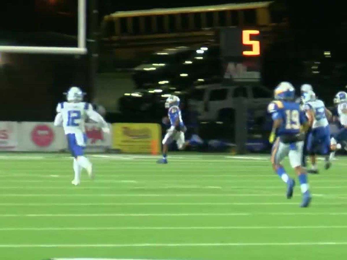 WATCH: Chapel Hill pick-6 gets them on the board against Lindale