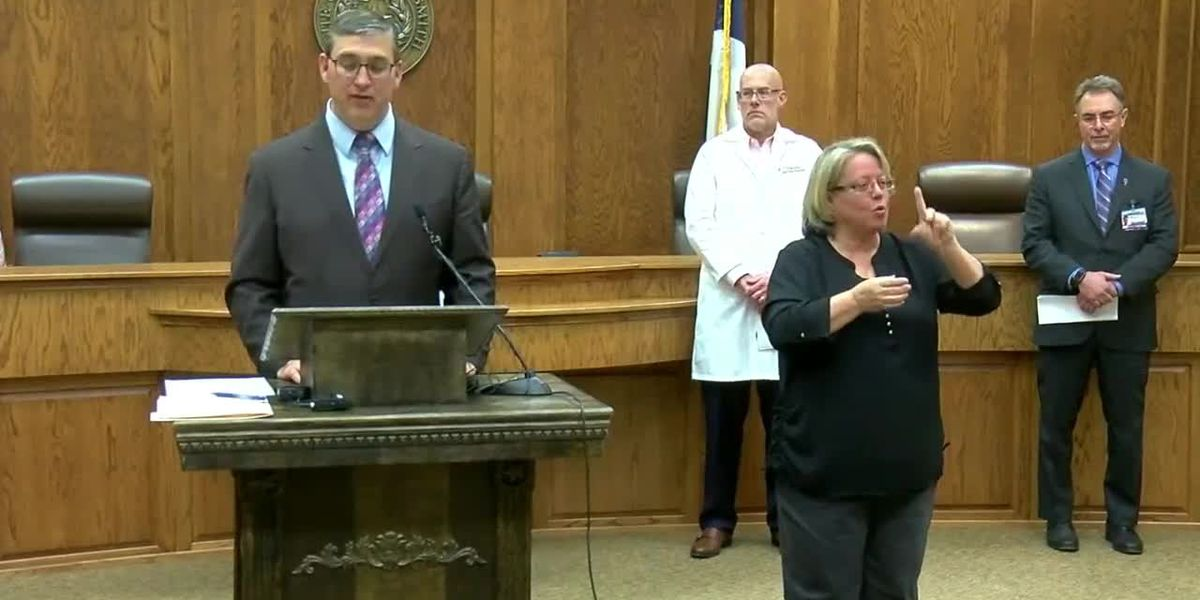 City of Tyler, Smith County officials give update on COVID-19