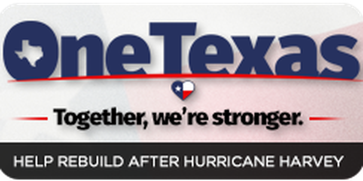 OneTexas to help our state's hurricane victims