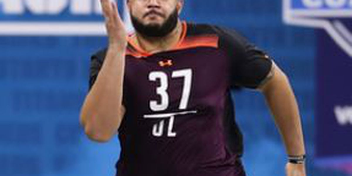 Lufkin's Erik McCoy did not disappoint at NFL Combine