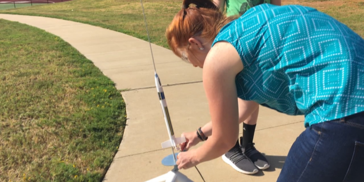 Students explore inner scientists during Tyler ISD rocketry STEM camp
