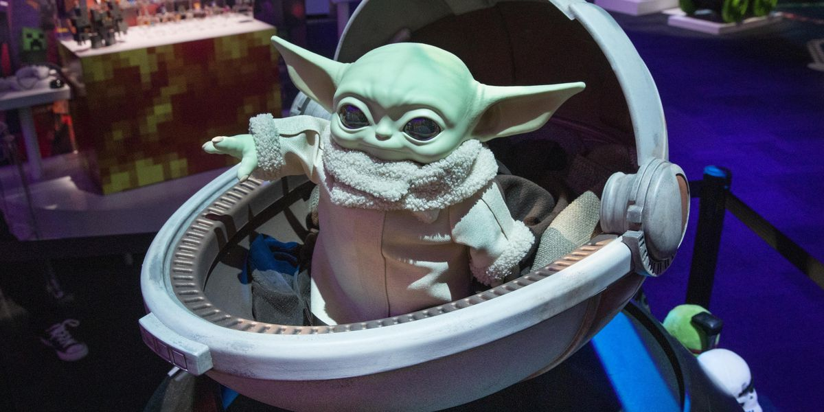 Baby Yoda catches a ride on SpaceX flight to International Space Station