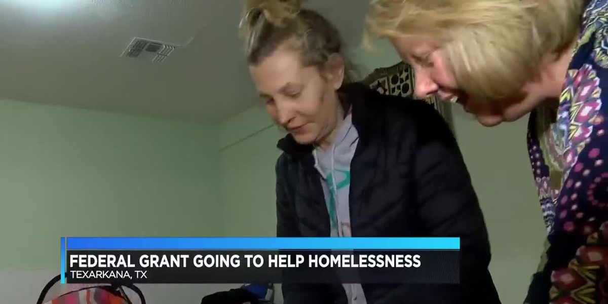 Texarkana gets $300,000+ grant to help combat homelessness