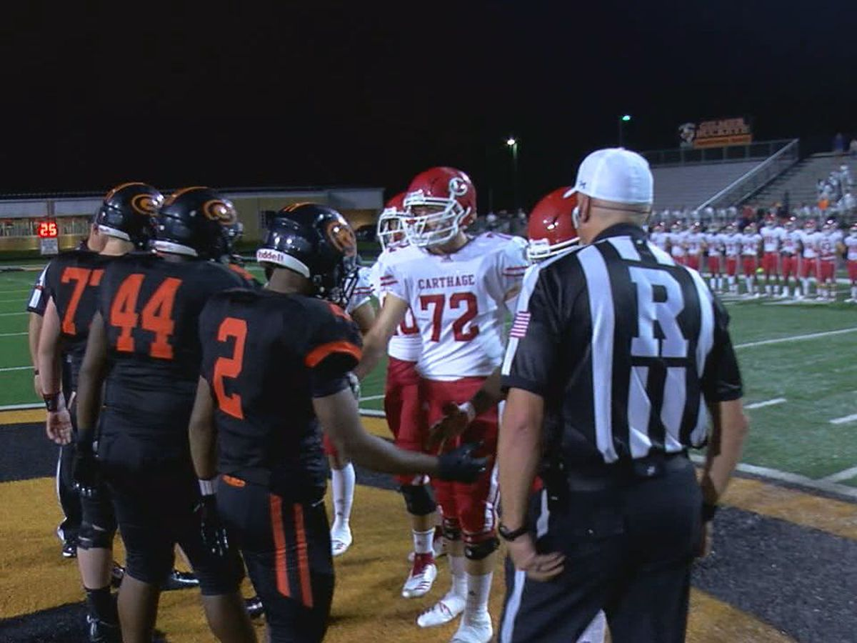 Gilmer travels to Carthage for Week 4 Game of the Week