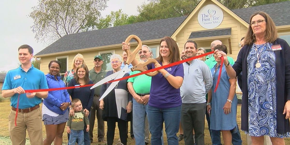 New building donated to youth development golf organization