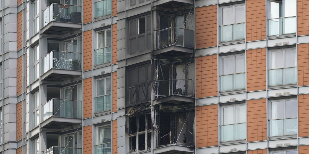 London high-rise blaze raises new concerns about cladding