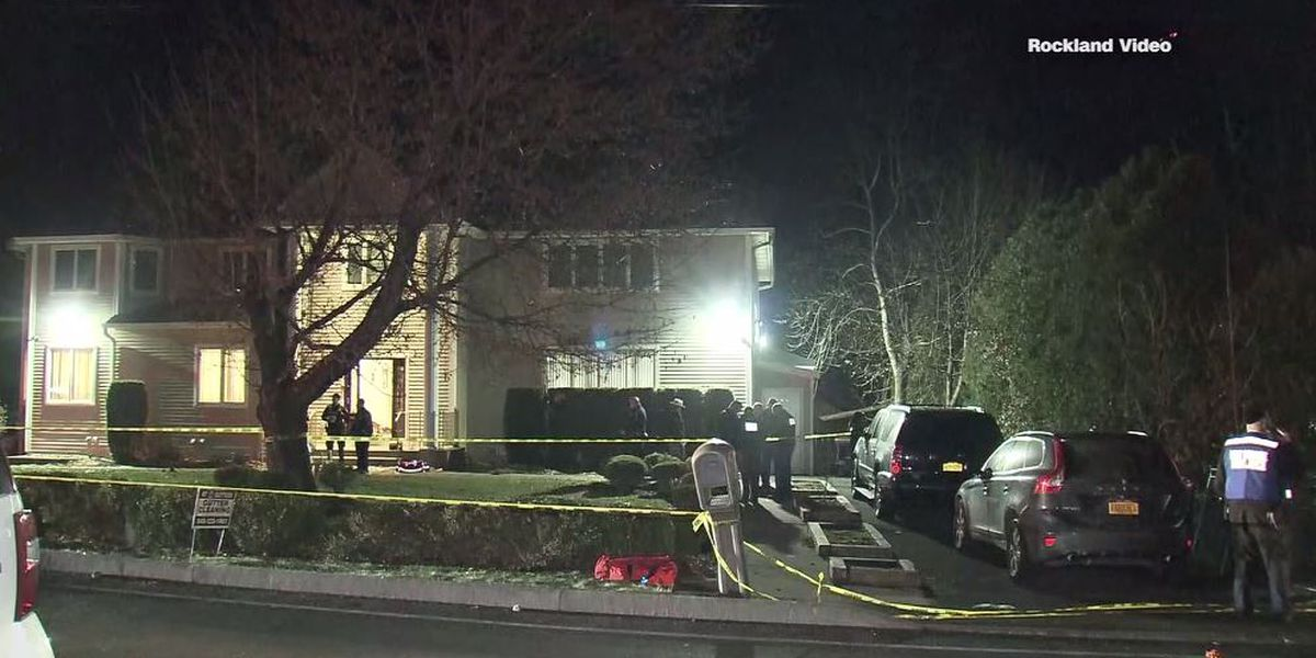 5 stabbed at rabbi's house on Hanukkah; suspect in custody