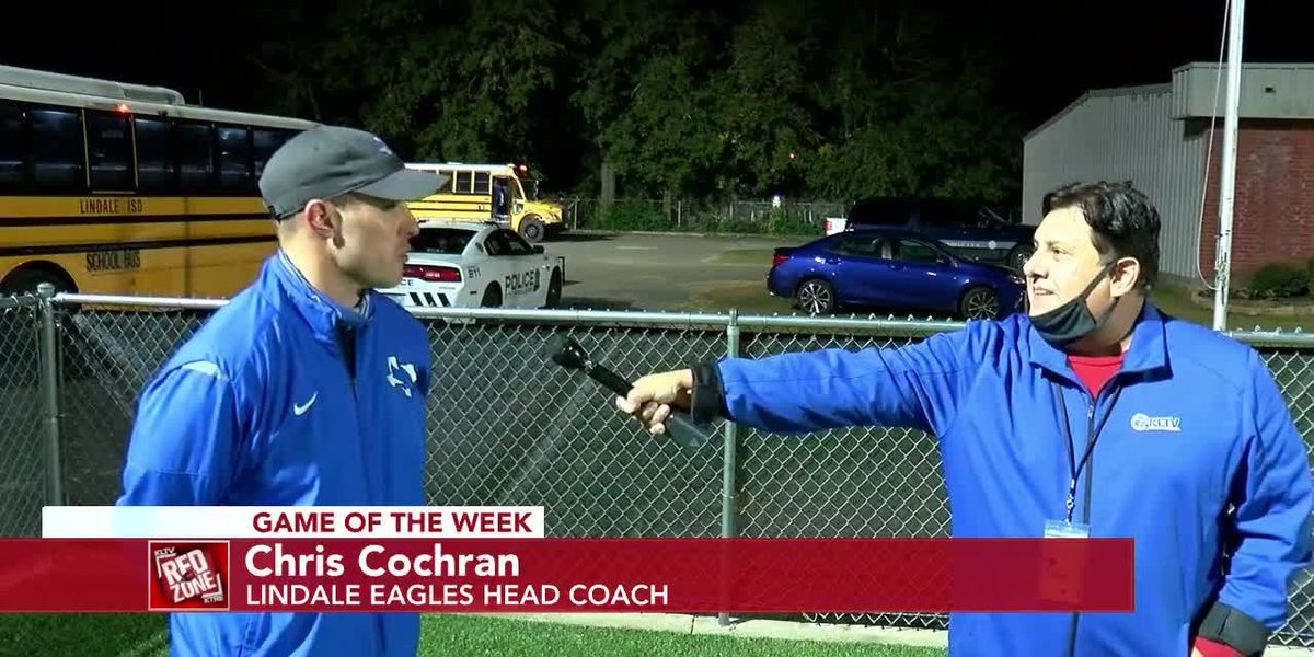 2020 Week 11 Coach Interview: Lindale Eagles Head Coach Chris Cochran