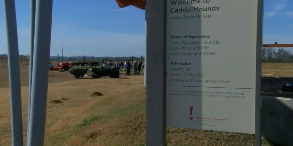 Caddo Mounds State Historic Site closes days before marking one year since tornado