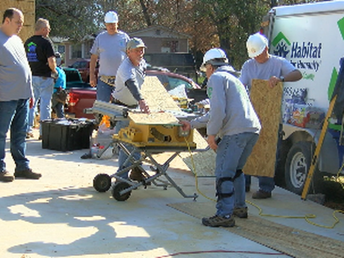 Habitat for Humanity builds 109th home