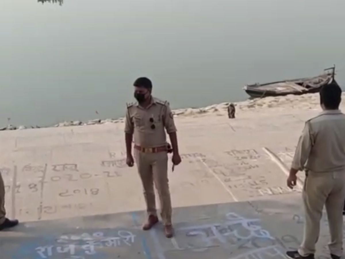 Scores of dead bodies found floating in India's Ganges River