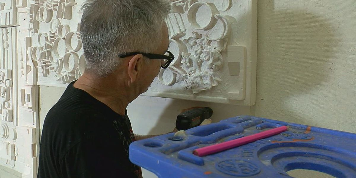 East Texas artist turns downtown Tyler trash into work of art