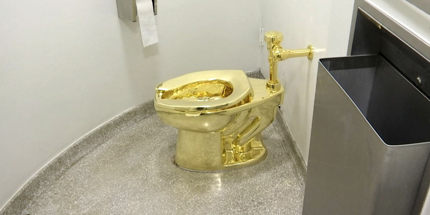 Solid gold toilet worth $1.25 million stolen from Winston Churchill's birthplace