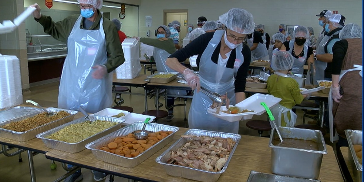 123rd annual Salvation Army Thanksgiving meal served to less fortunate in Tyler