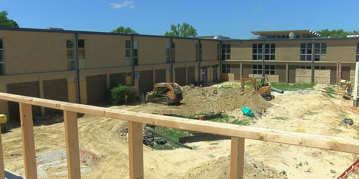 Behind the scenes of Robert E. Lee, John Tyler High School construction projects