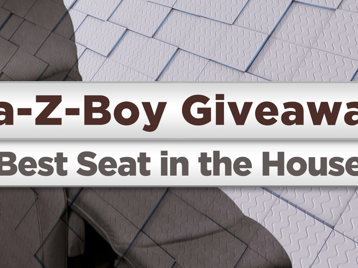 Lay-Z-boy Giveaway: Best seat in the house