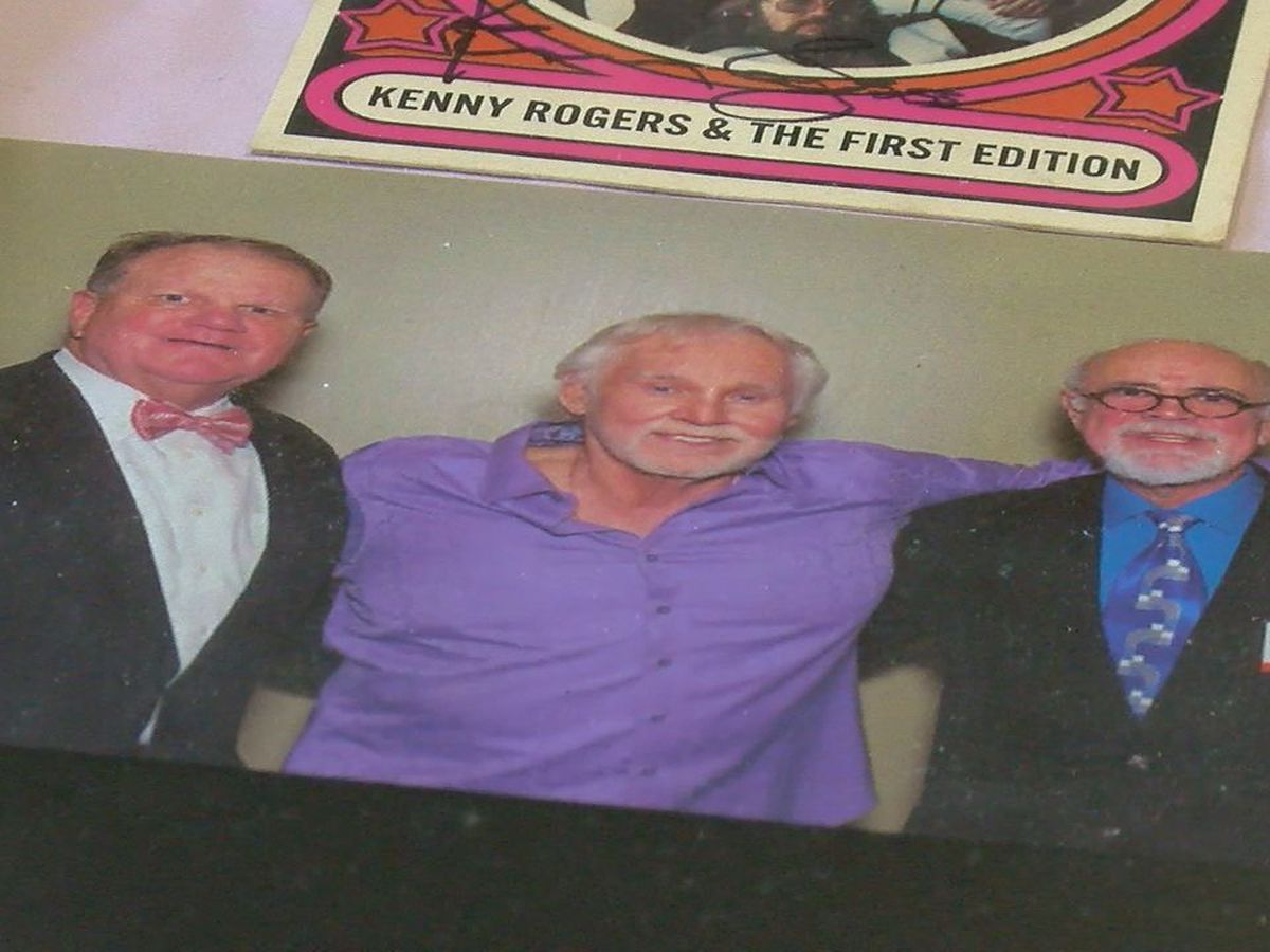 WEBXTRA: Country legend Kenny Rogers had close ties to Crockett