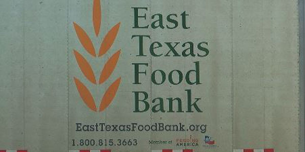 East Texas Food Bank holding drive-through produce distribution in Longview Friday