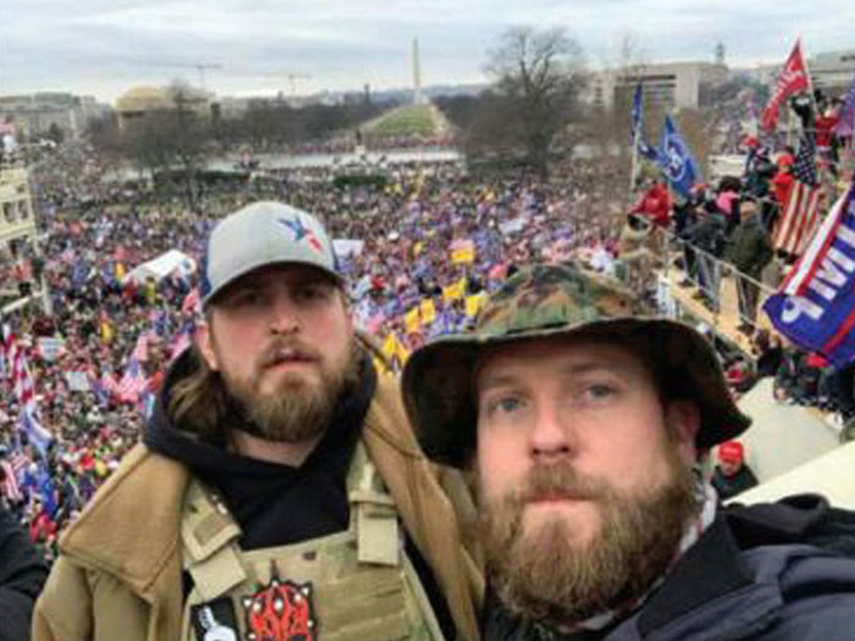 East Texas men accused in US Capitol riot given new arraignment date