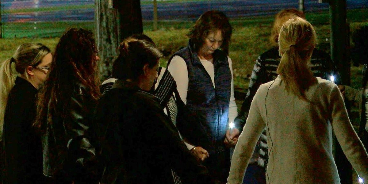 Candlelight vigil held for Panola County woman missing since last week