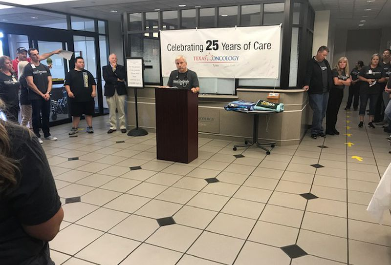 Texas Oncology - Tyler celebrates 25 years of caring for