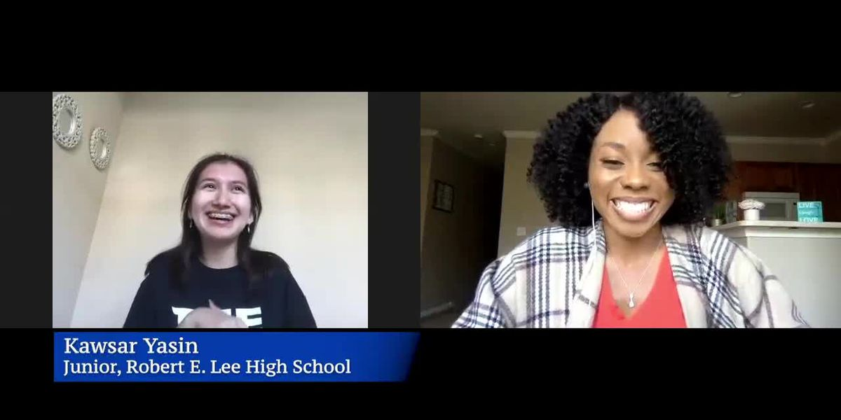 WATCH: Robert E Lee High School student explains why she hopes for name change