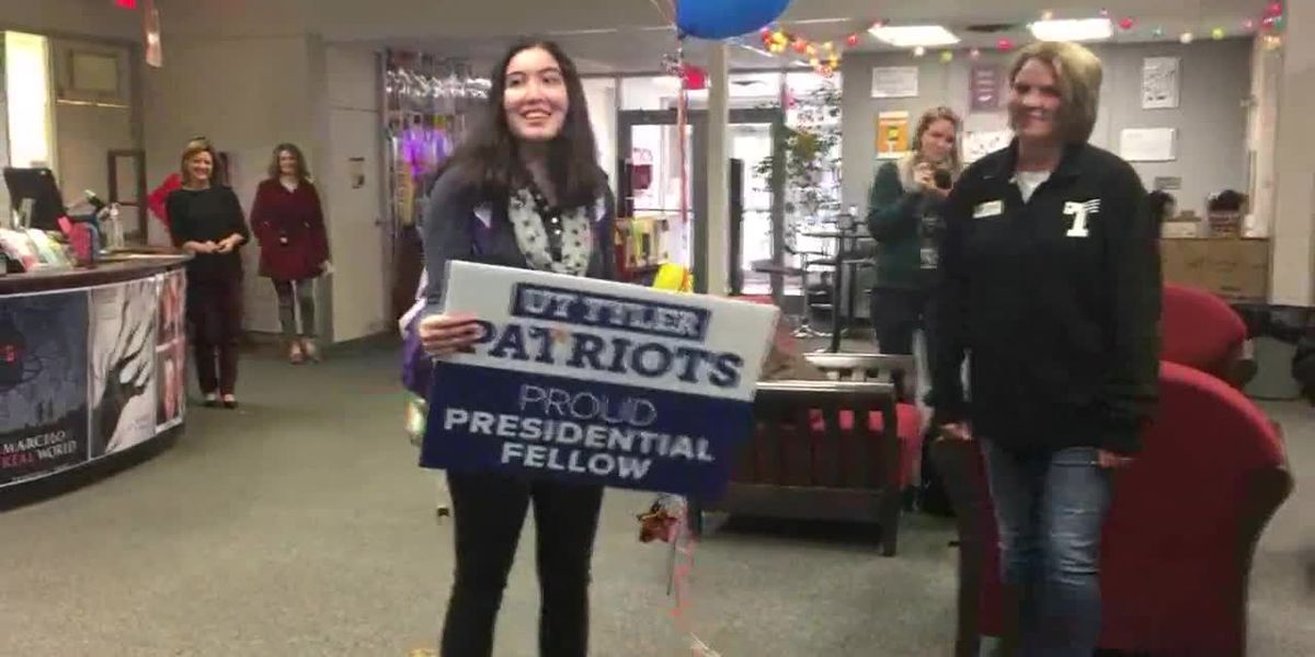 VIDEO: UT Tyler surprises Robert E. Lee senior with full ride scholarship