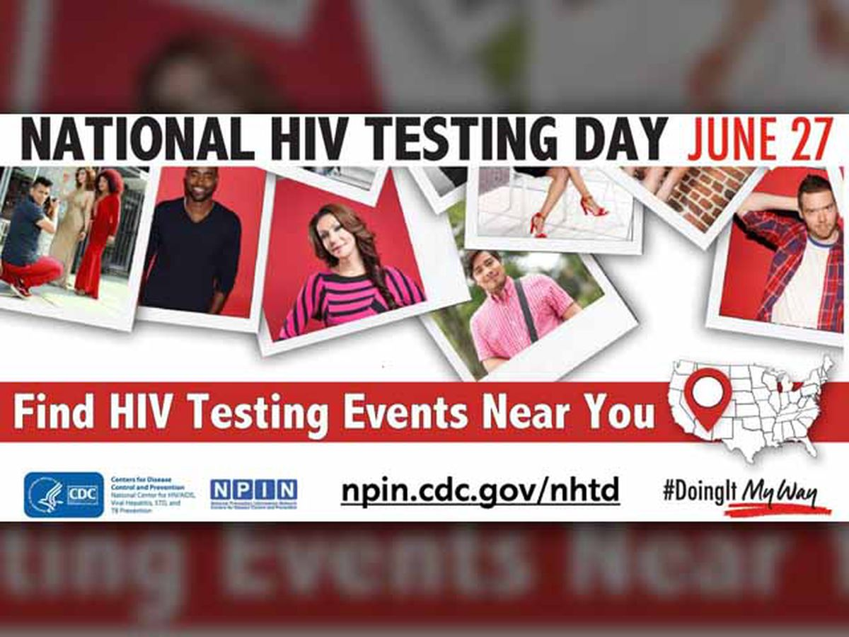 Health officials offering free HIV testing in Longview Thursday