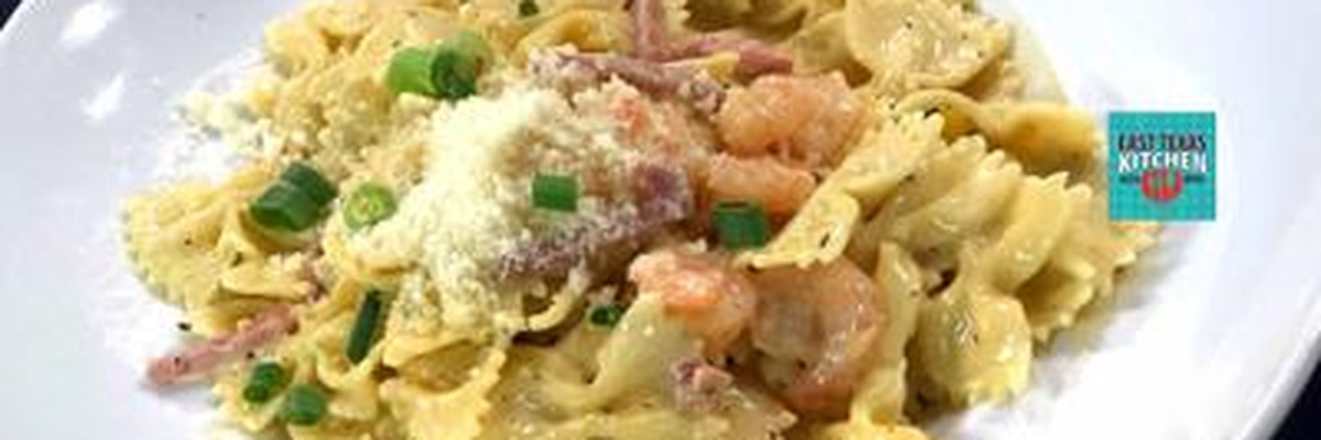 Shrimp and tasso pasta by Copeland's New Orleans of Longview