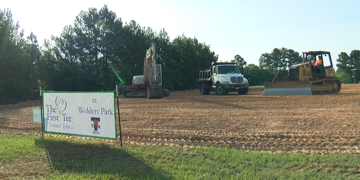 The First Tee of Greater Tyler breaks ground on new golf learning facility