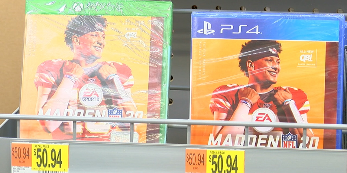 They grew up with Mahomes, now they're buying his Madden game