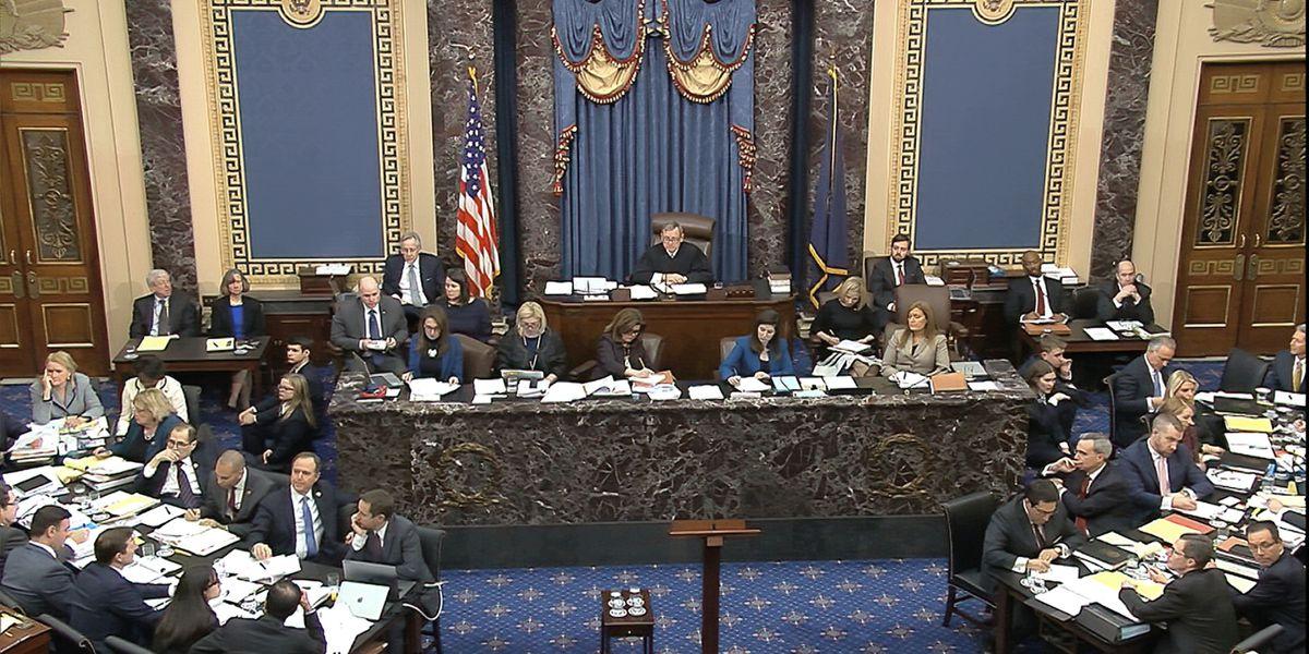 WATCH LIVE: Impeachment trial continues in the Senate