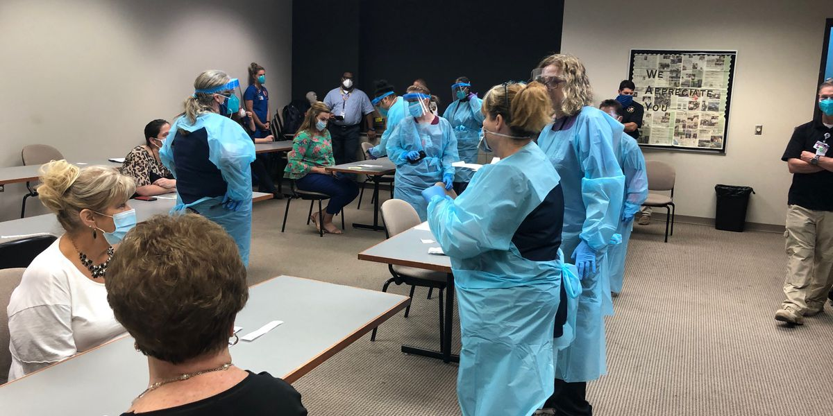 Longview ISD preps for full-scale, districtwide COVID-19 testing