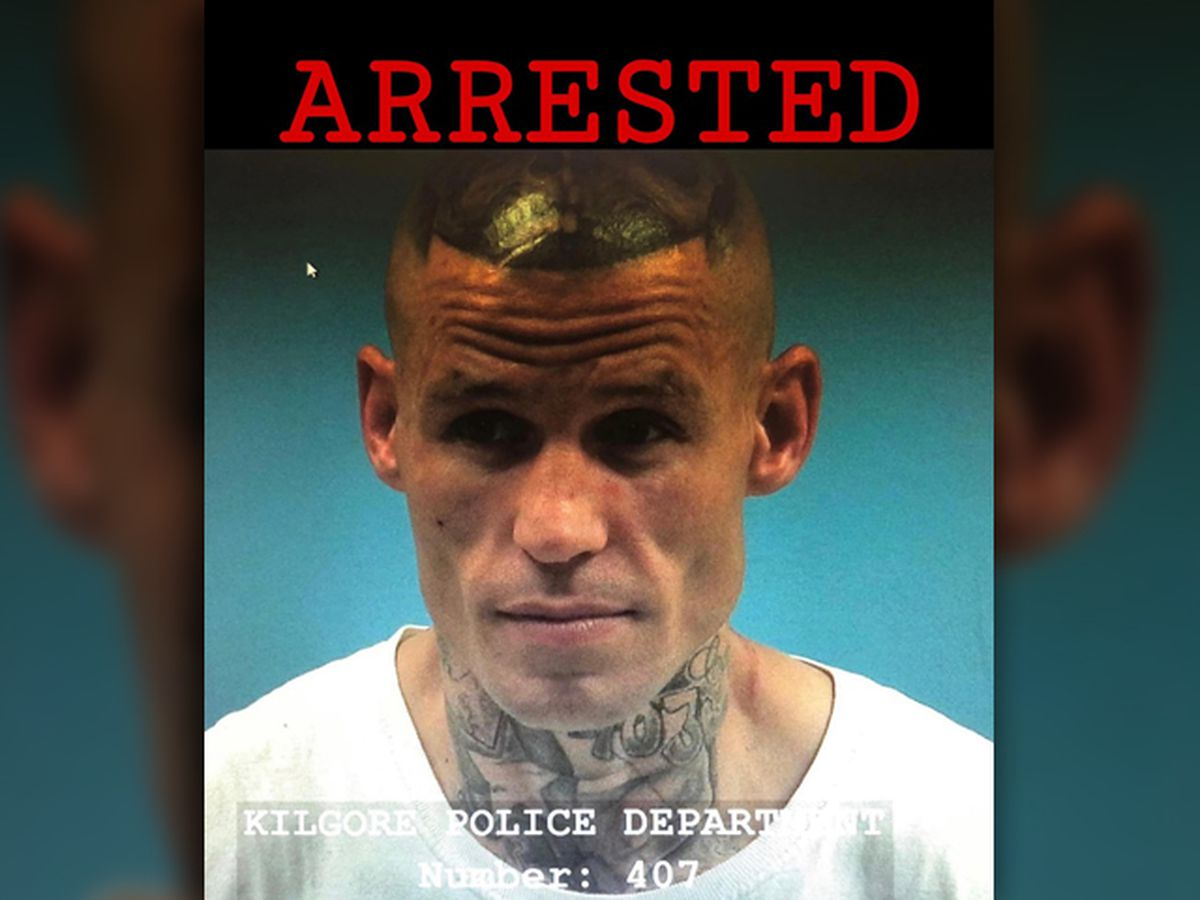 Suspect of pursuit, manhunt arrested in Kilgore
