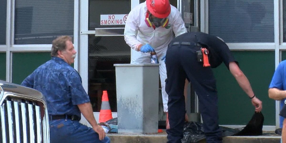 Evidence not damaged in Palestine Police Department chemical spill