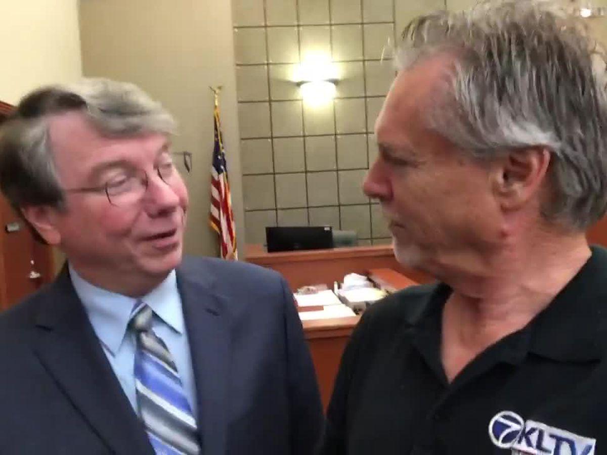WEBXTRA: Judge David Brabham retiring as 188th District Judge