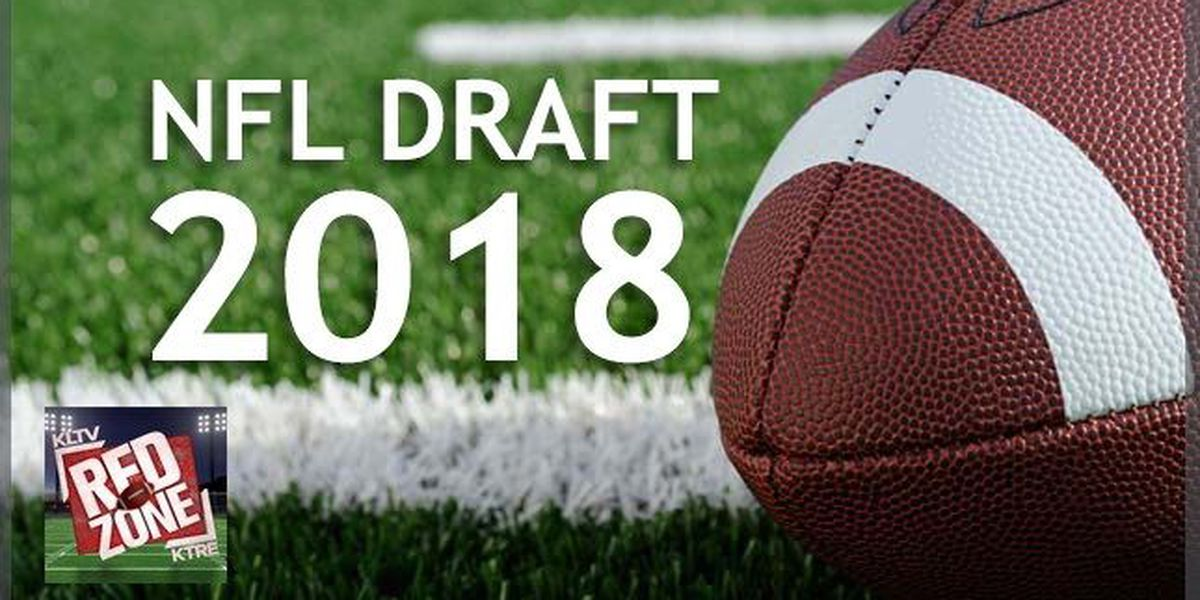 East Texans selected by pro teams during the 2018 NFL Draft