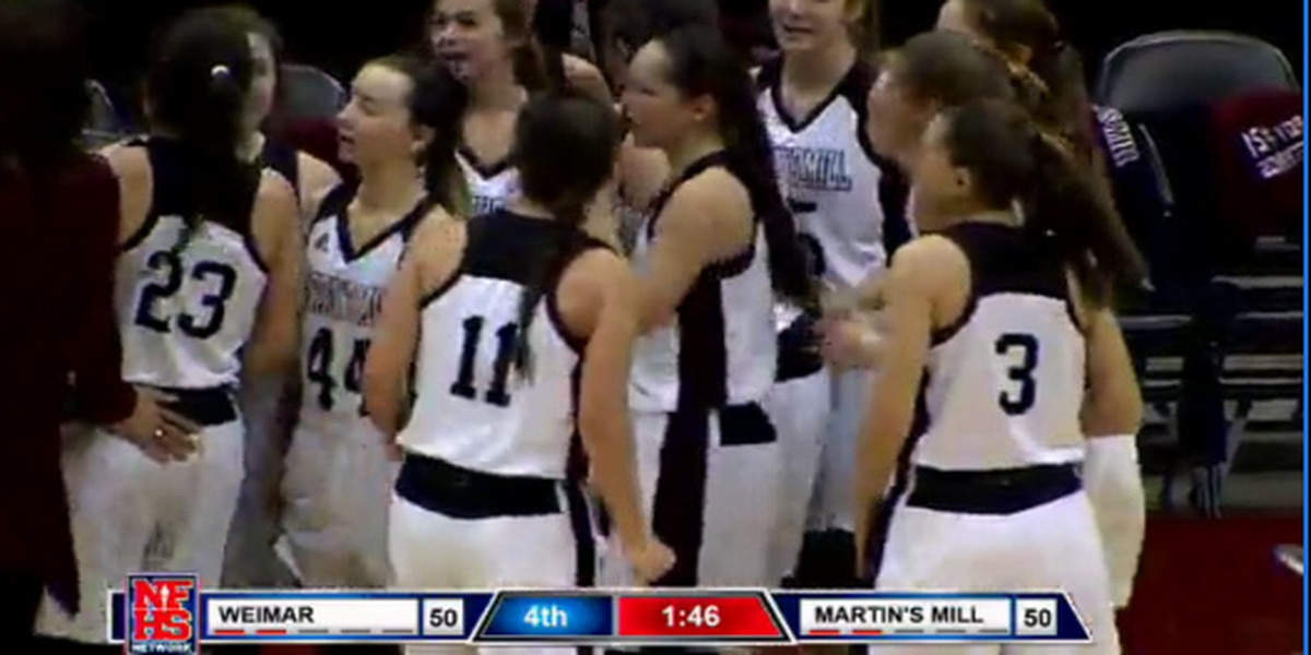 Martin's Mill Lady Mustangs headed to the state championship