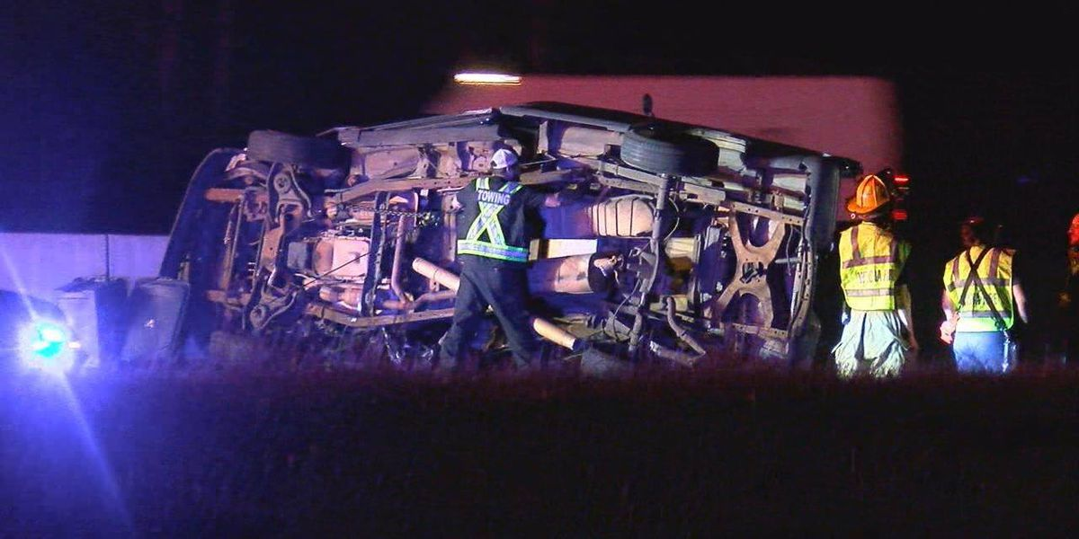 Westbound lanes of I-20 at Gregg, Smith county line back open