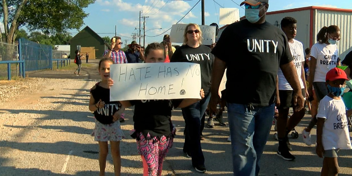 Lindale churches hold 'Unity March'