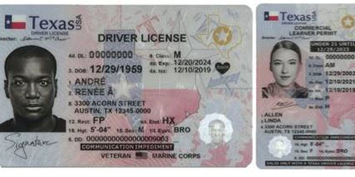 Texas Increases Security Features, Unveils New Design for Driver License/ID  and License to Carry Cards