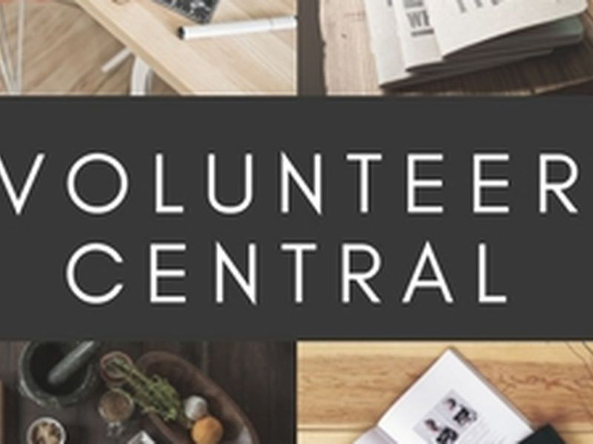 Volunteer Central: Opportunities to serve for the week of July 15