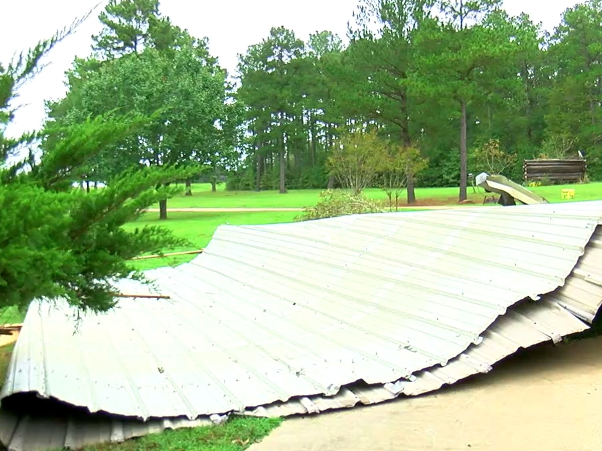 Weekend tornado leaves some damage in Panola County
